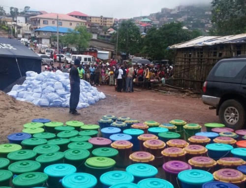 How we are helping the Regent Community in Freetown.